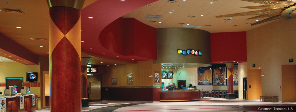 Golden Era Looks with Modern Light Control Technology - Cinemark
