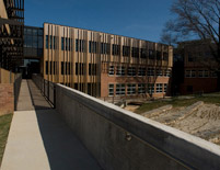 Sidwell Friends Middle School Exterior Walkway