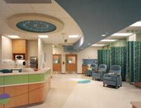 reception area lighting