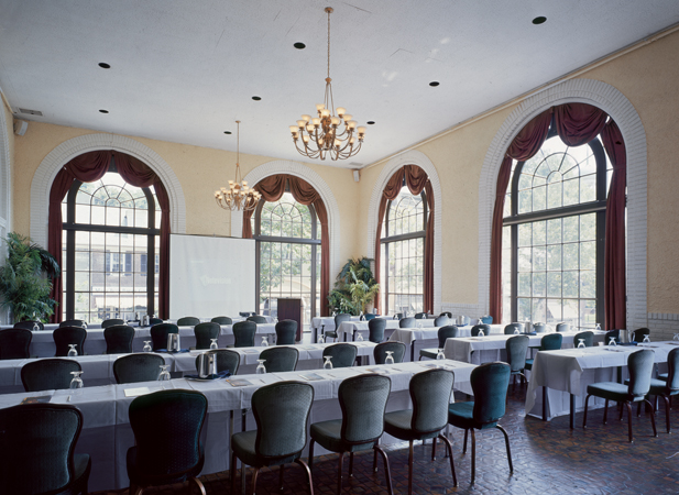 Elegant shading in an historic hotel hotel bethlehem for 1741 on the terrace