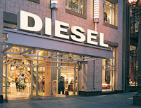 Diesel Jeans and Workwear Entrance