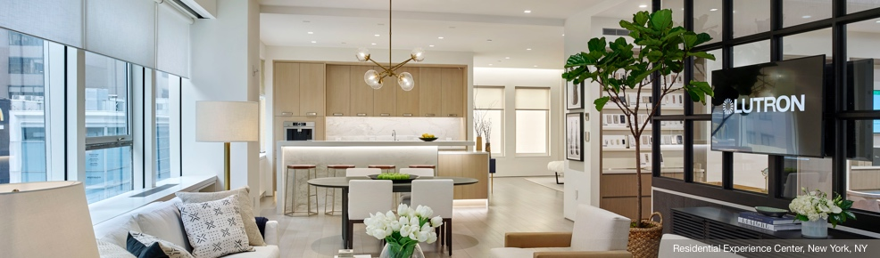 see lutron solutions in person at experience centers showrooms
