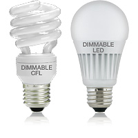 Dimmable CFL/LED