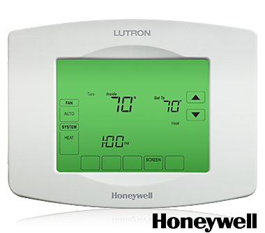 The Lutron Touchpro Wireless Thermostat Combines The