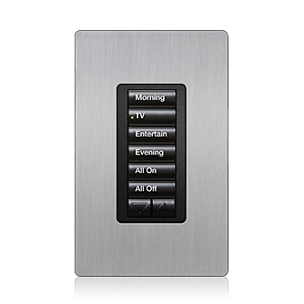 radiora® 2 designer seetouch® keypad overview the radiora 2 designer seetouch keypad provides control of lights shades temperature and plug in devices in the same room or throughout the home