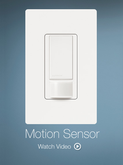 Lutron Motion Sensing Light Switches