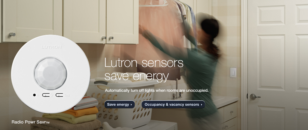 Lutron sensors save energy