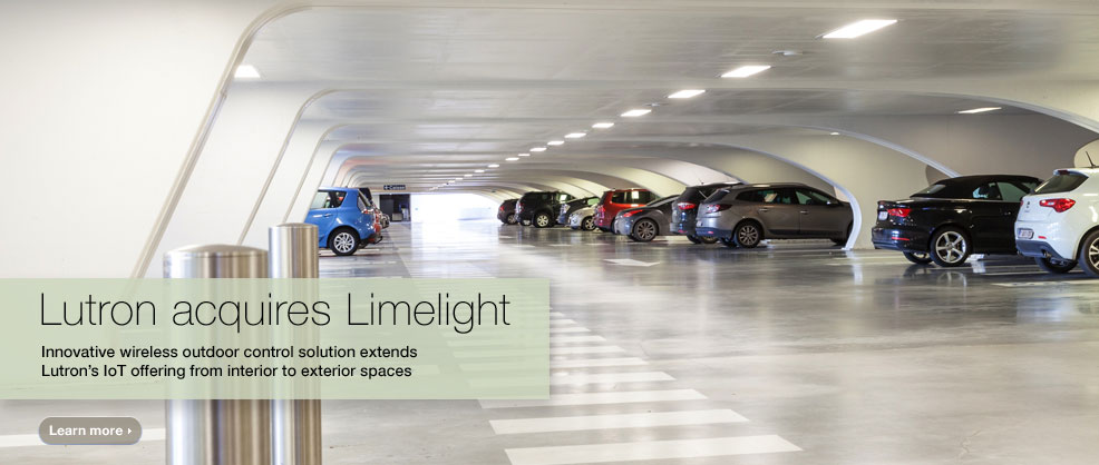 Lutron acquires Limelight