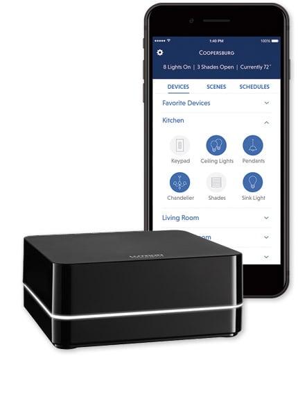Lutron HomeWorks QS System App & Integration