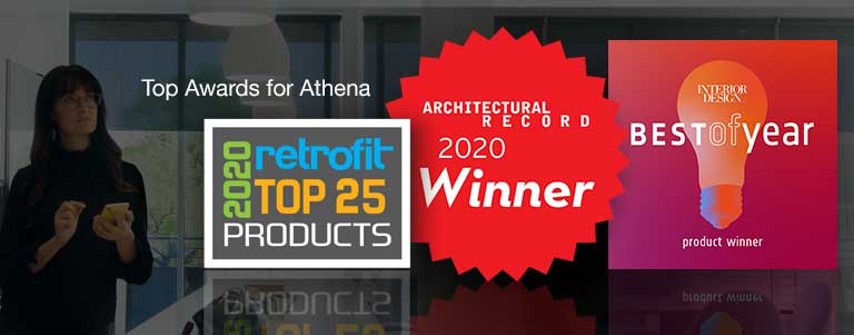 Top Awards for Athena