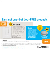 Lutron PRO Residential Contractor Program Details