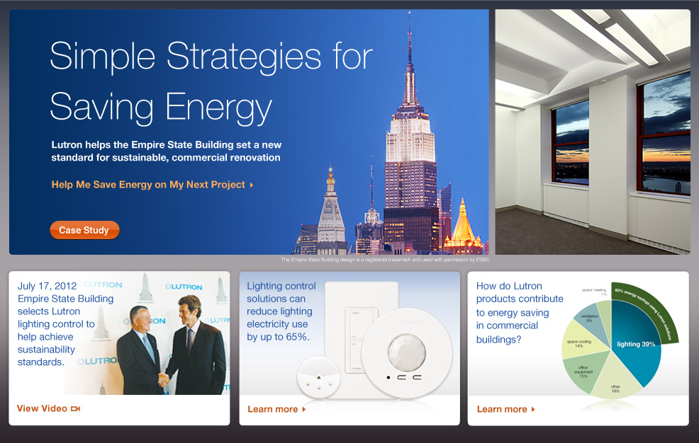 Lutron helps the Empire State Building set a new standard for sustainable, commercial renovation