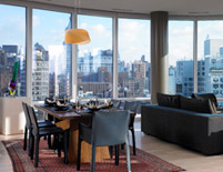 Astor Place Living and Dining Room