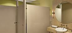 Restrooms, Stairwells and Corridors