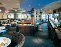 California Café Dining Area