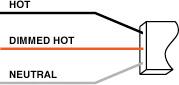 3-wire ballast diagram