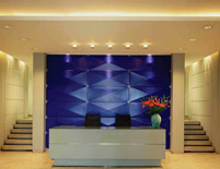 Diners Club Headquarters Reception Desk
