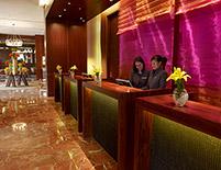 Recepción, Hotel JW Marriott Bogotá, Colombia