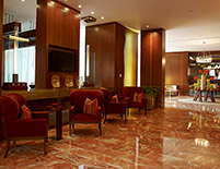 Lobby, Hotel JW Marriott Bogotá, Colombia