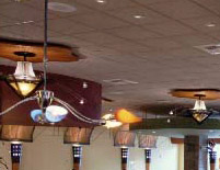 California Café Ceiling Fixtures