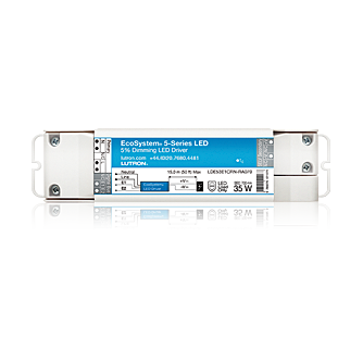 "ecosystemâ""¢ 5 series led driver overview the ecosystem 5 series led driver is built on the ecosystem platform which guarantees dimming performance lutron control systems and provides an"