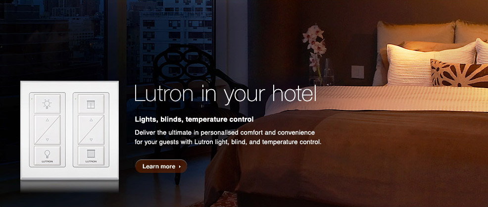 Lutron in your hotel