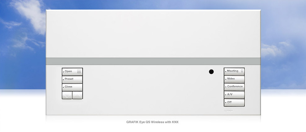 GRAFIK Eye QS Wireless with KNX
