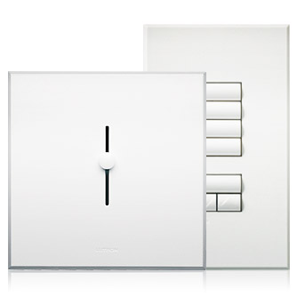 dimmer front and profile views