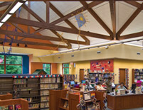 Cuyahoga County Public Library Main Room