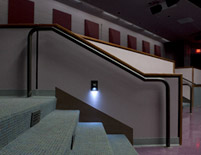 Montgomery College Theater Arts Building Stairs