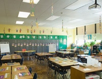 Grover Cleveland Elementary School Class Room