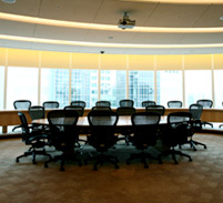 schedule lighting in conference rooms