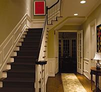 light hallways and other pathways